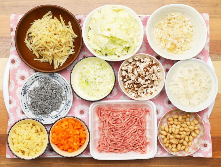 セブンイレブンの生姜スープを自分で作る 材料