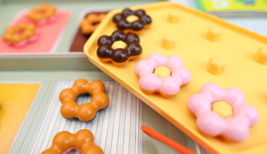 【こどもちゃれんじ】ほっぷ5月号レビュー 「かずのドーナツやさん」で数えてあそぼう!