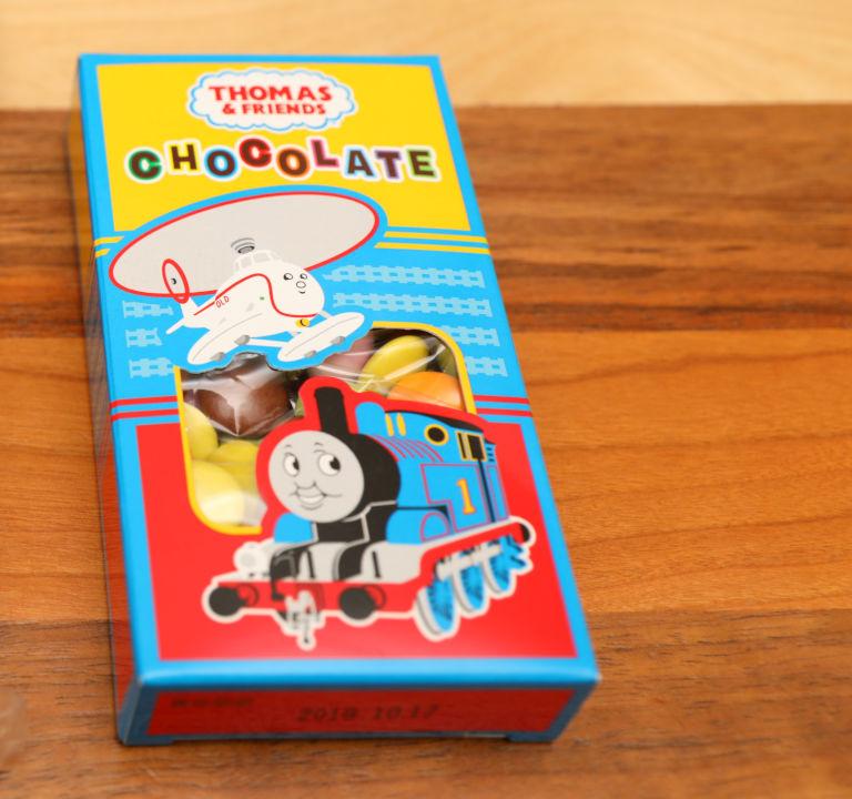 トーマス チョコレートミニバンクリフィル