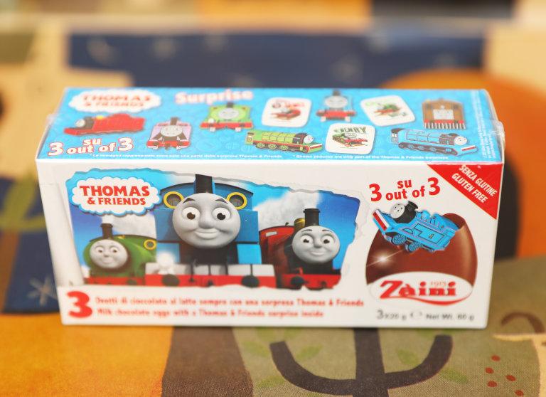 トーマス チョコエッグ