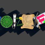 【作品紹介】BUMP OF CHICKENをイメージしたブログのタイトル・ロゴを作成させていただきました!