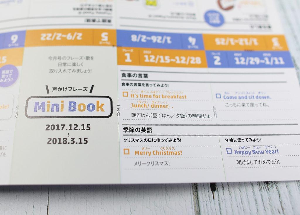 ぽけっとEnglish特別号おうちのかた向け冊子