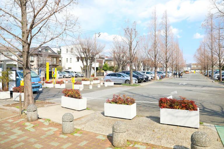 大師公園 駐車場