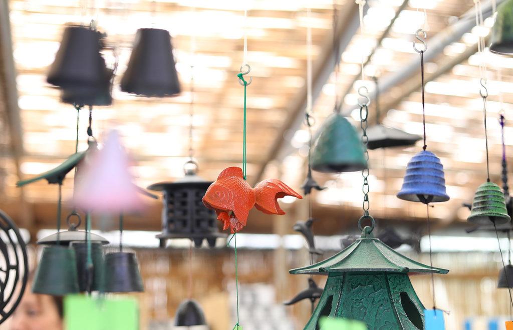風鈴市 金魚の風鈴