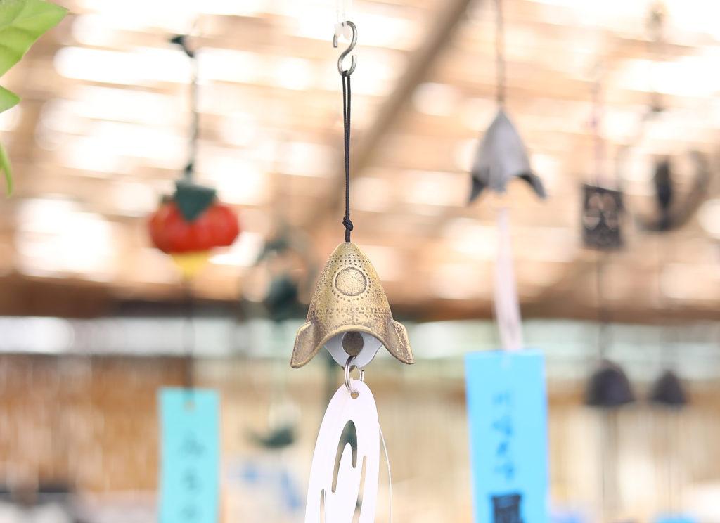 風鈴市 ロケットの形をした風鈴